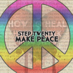 How To Get Over Heart Break In 20 Steps, Step Twenty: Make Peace