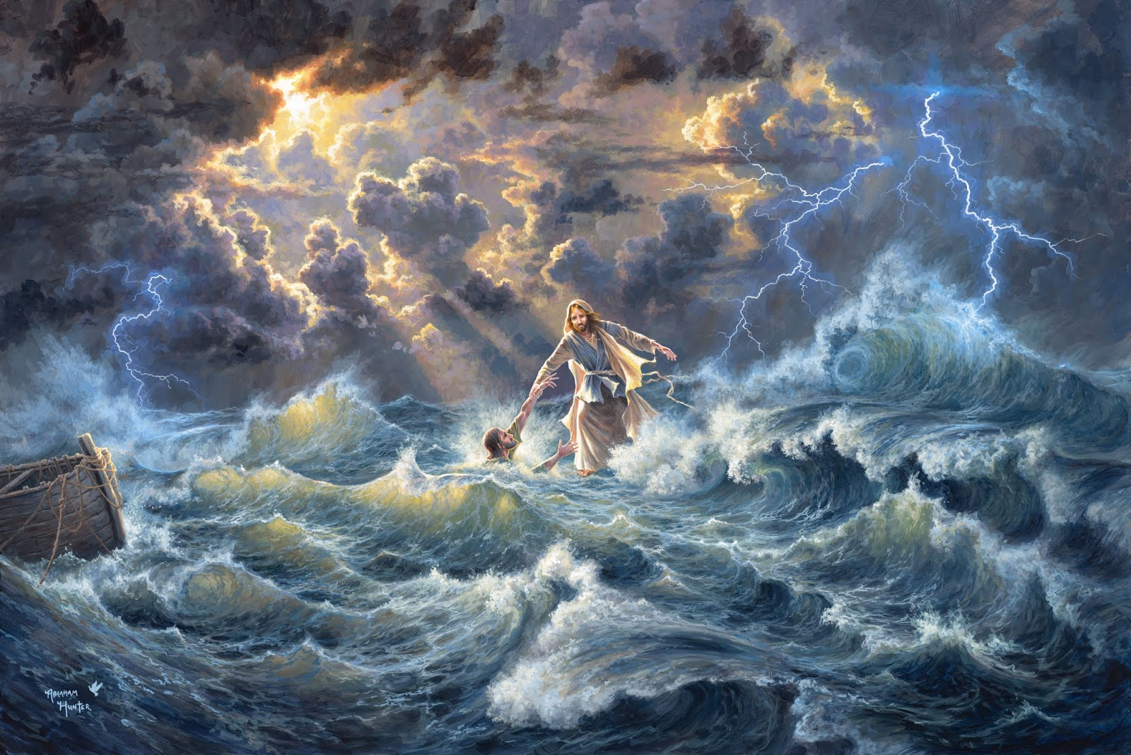 Jonah's preaching paled in comparison to the wonderfully profound teachings of Jesus, which were accompanied by many miracles that demonstrated His authority over nature, sickness, demons, and death.