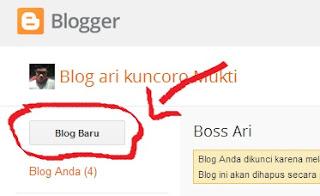 cara membuat blogger dengan gratis