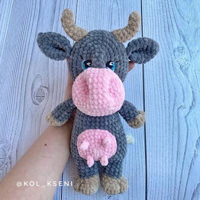 Корова Ферди амигуруми
