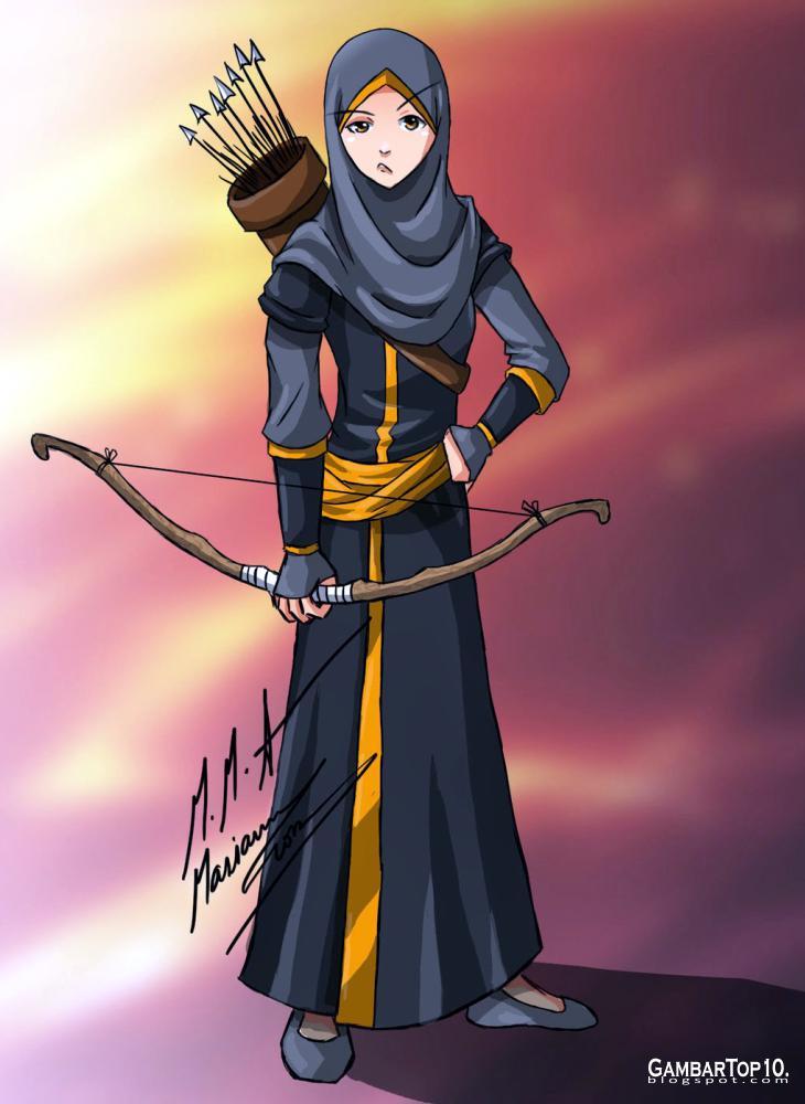 Anime Muslim Gaul