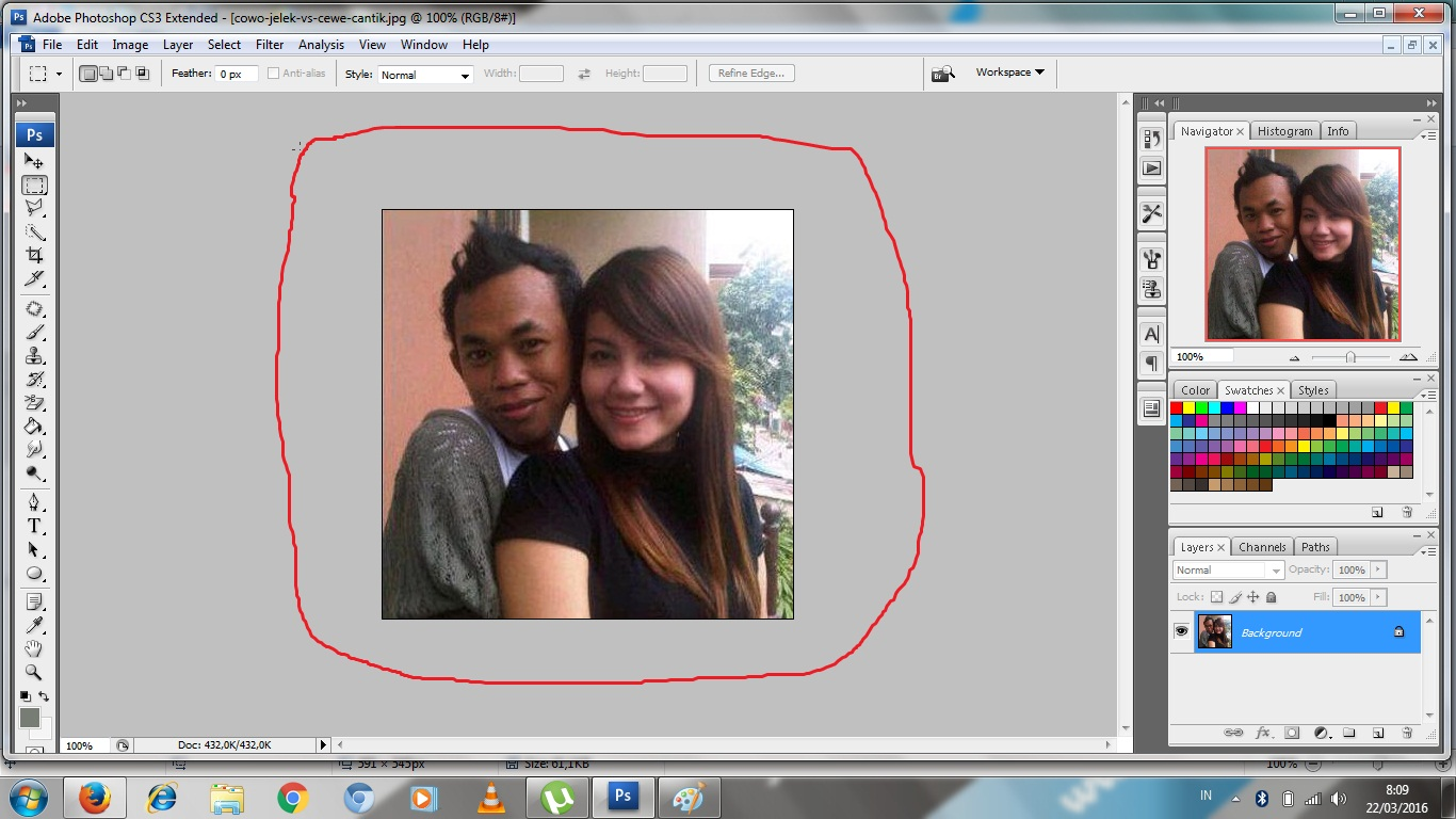 Cara Memutihkan Wajah di Photoshop CS3 ~ Berbagai Banyak Cara