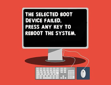 Fix The Selected Boot Device Failed Press Any Key to Reboot the System