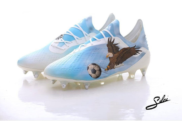 huge selection of b262d f5774 Custom Adidas X 18.1 Boots by  silni.art - cheap soccer cleats