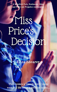 Book cover: Miss Price's Decision by Eliza Shearer