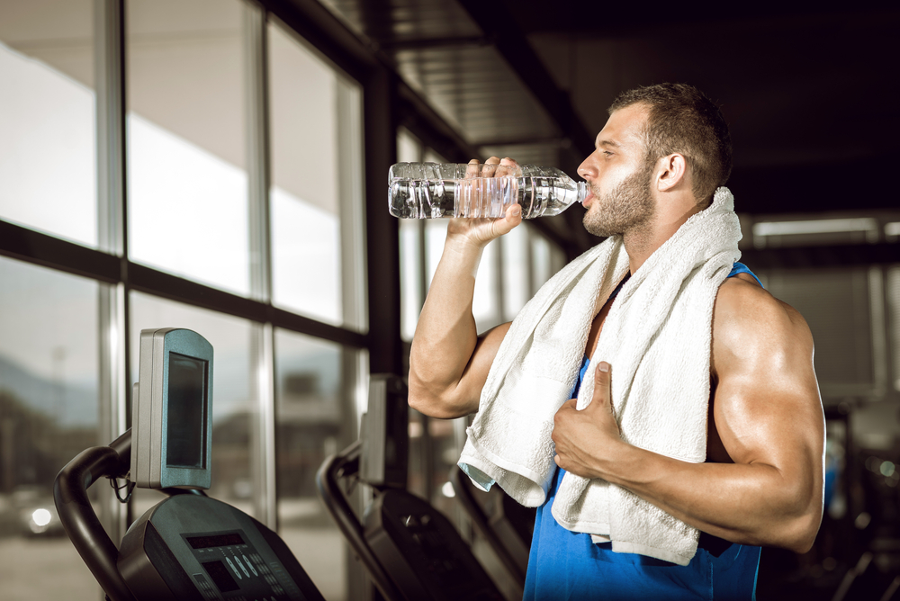 Instructions to Hydrate and Replace Electrolytes When Working Out