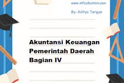 Akuntansi Keuangan Pemerintah Daerah Bagian IV