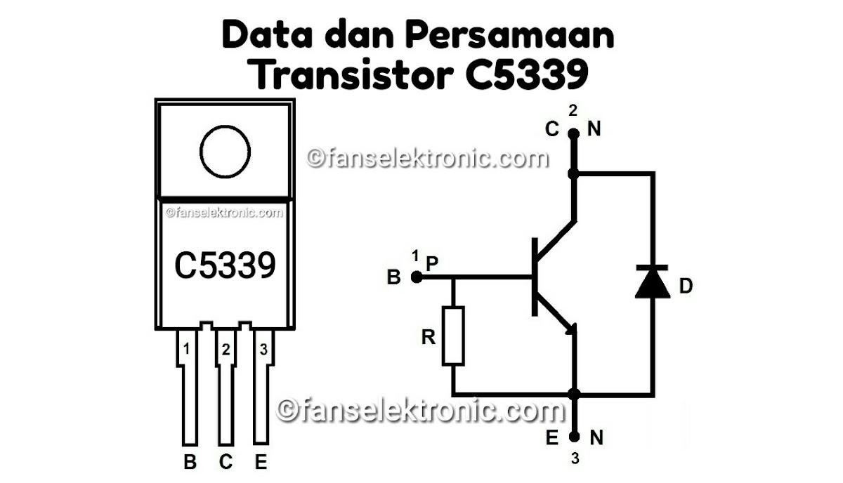 Persamaan Transistor C5339