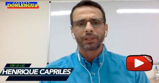 Capriles pide que negociaciones con Maduro sean hechas a espaldas del pueblo