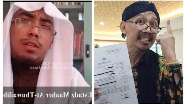 Abu janda Ustaz Maaher