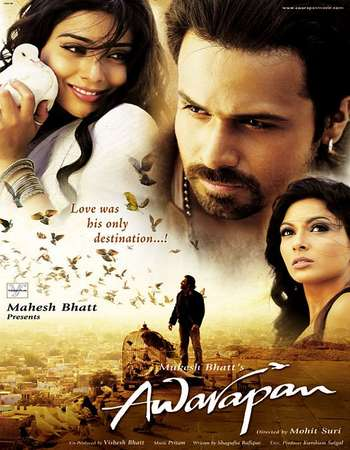 Poster Of Awarapan 2007 Hindi 350MB DVDRip 480p ESubs Watch Online Free Download Worldfree4u