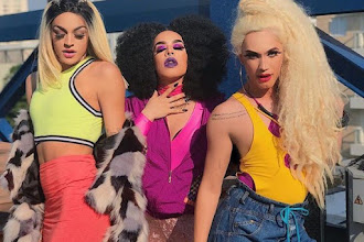 Lançamento | Aretuza Lovi, Pabllo Vittar e Gloria Groove lançam clipe para a música Joga Bunda