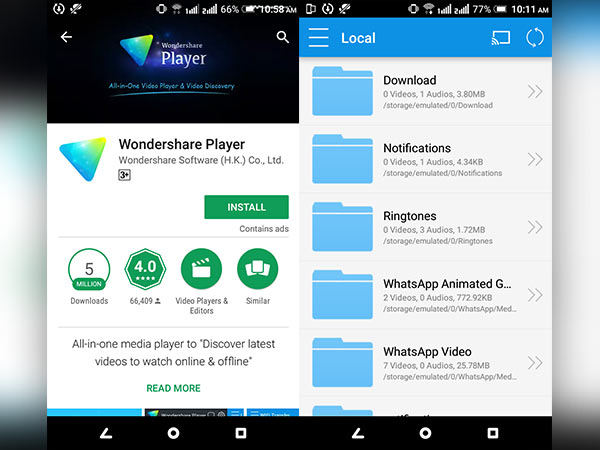How to Play DVD and VCD files on Your Android phones