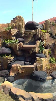Relief taman dan dekorasi - tukang taman surabaya