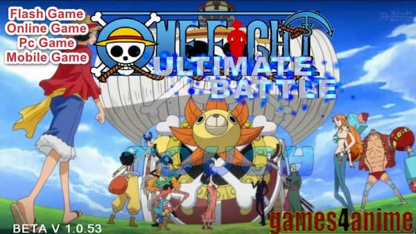 A free online game on the browser with all the characters of One Piece