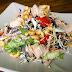 Ensalada de pollo y anacardos