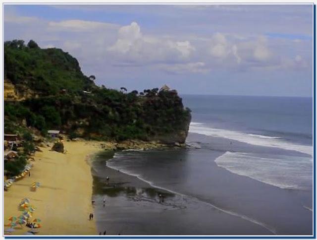 Daftar Pantai Pasir Putih Jogja Terdekat dengan Pemandangan Memukau