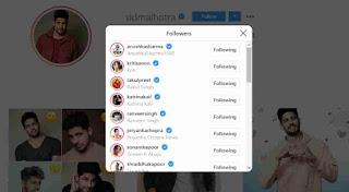 Sidharth Malhotra Instagram