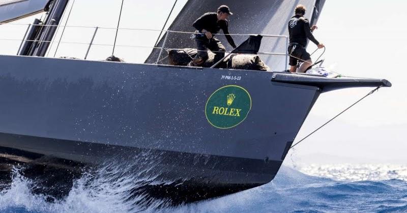 Maxi yacht rolex cup - altra tregua per i maxi, alla regia di nuovo eolo