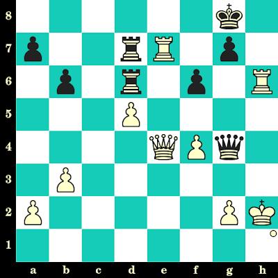 Les Blancs jouent et matent en 2 coups - Vlad-Cristian Jianu vs Burak Firat, Legnica, 2013