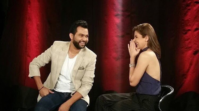 Sultan movie director Ali Abbas Zafar, with Anushka Sharma