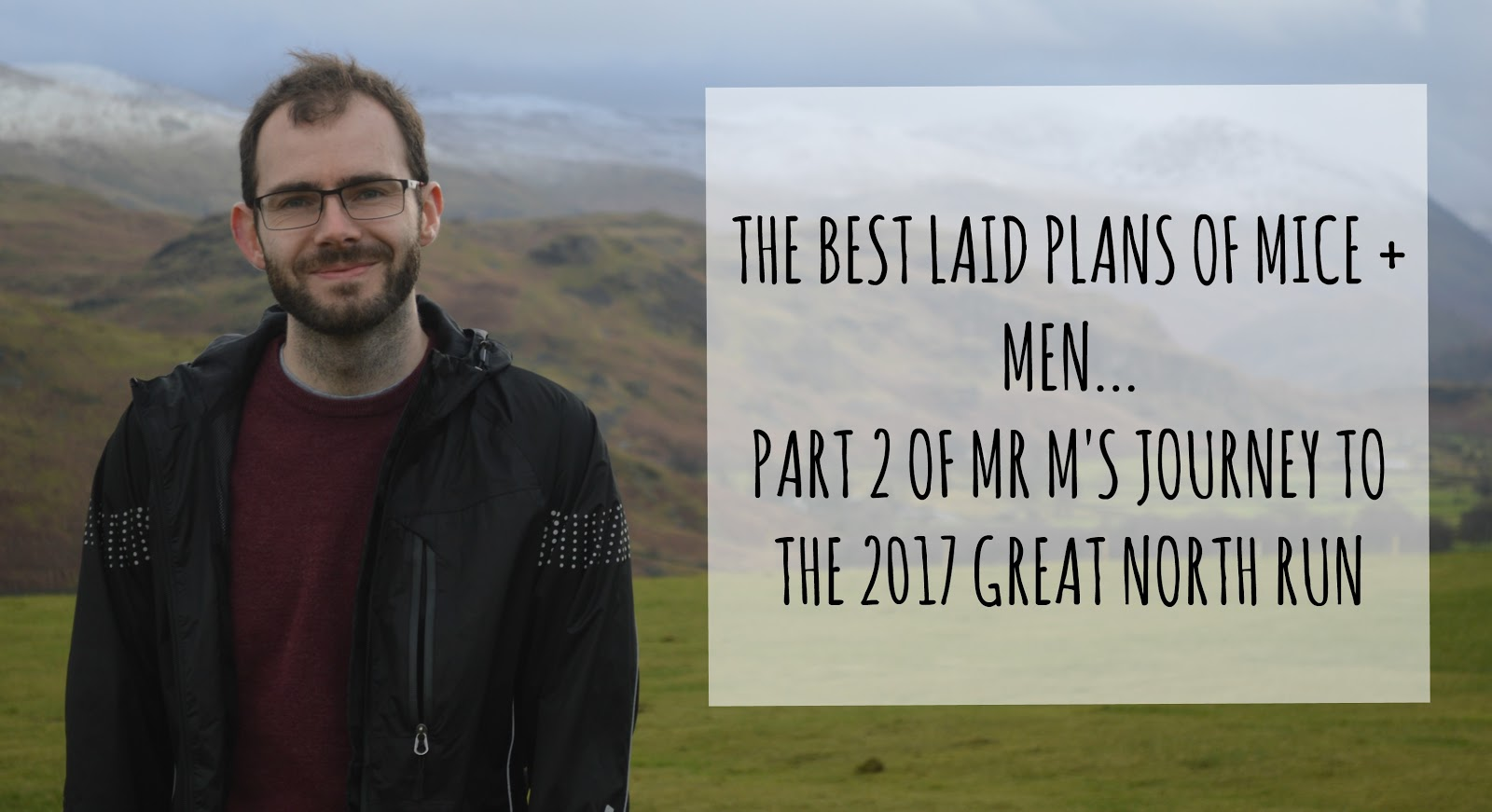 The best laid plans of mice and men…  MR. M'S JOURNEY TO THE 2017 GREAT NORTH RUN