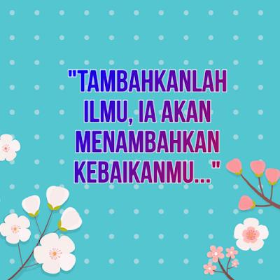 Tambahlah Sesuatu Dalam Kehidupanmu
