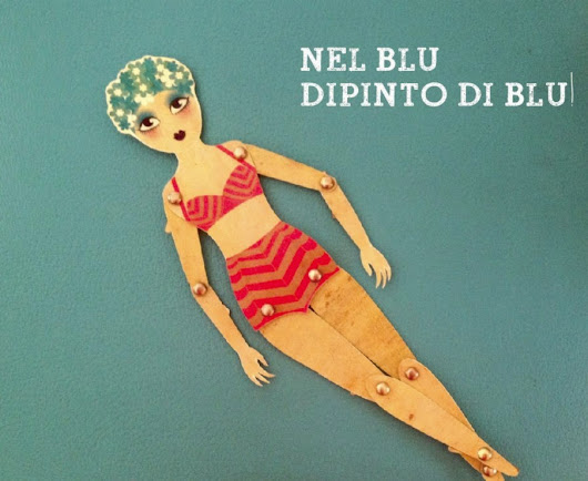 Enrica Mannari: My Lovely Paper doll. Designed with love near the sea.