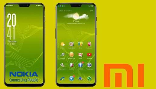 Tema Xiaomi: Tema Nokia Untuk Xiaomi MIUI 11 Mtz