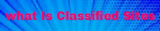 Classified Site Keya hai - Logo