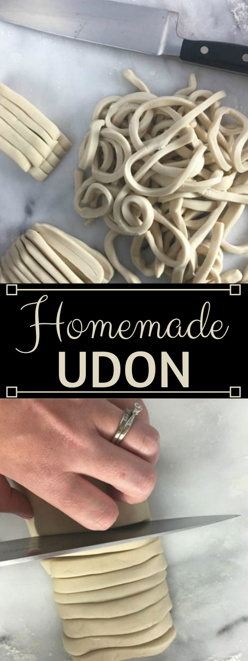 How to Make Homemade Udon #dinner #homemade #easy #lunch #recipes