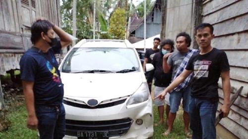 8 Pelaku Penyerangan Mobil Dinas Bea Cukai Riau Ditangkap di Jambi