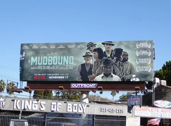 Mudbound movie billboard