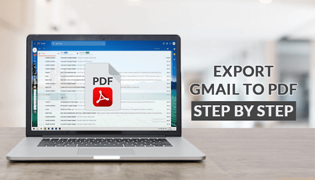 Export Gmail Emails to PDF