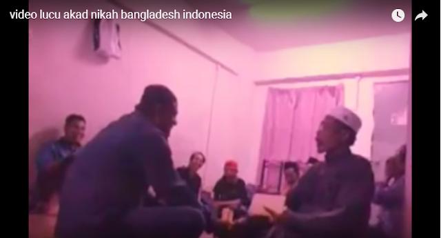 Penghulu Ngakak, Akad Nikah Lucu Pria Bangladesh Menikahi Wanita Asal Indonesia