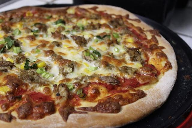 Mexican Leftovers Pizza Recipe