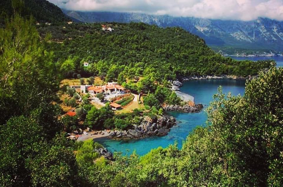 Παραλίες Εύβοιας: Σαρακήνικο [Πηγή φωτογραφίας: adventure evia/facebook.com]