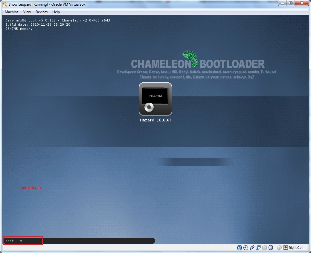 Guide] Installing Mac OS X Snow Leopard in VirtualBox 4 1 4 Windows