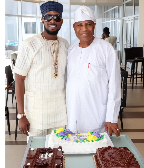 dbanj dad 70th birthday