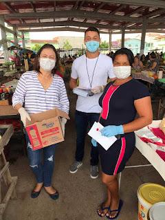 Itiruçu: Vereador e Prefeita em camapnah contra o  Coronavírus