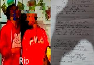Sepasang Kekasih di Toraja Ditemukan Gantung Diri Meninggalkan Surat Wasiat