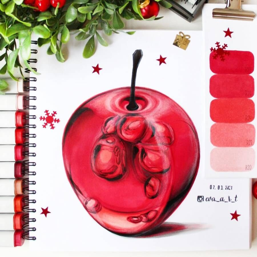 06-Red-apple-Eva-Art-www-designstack-co