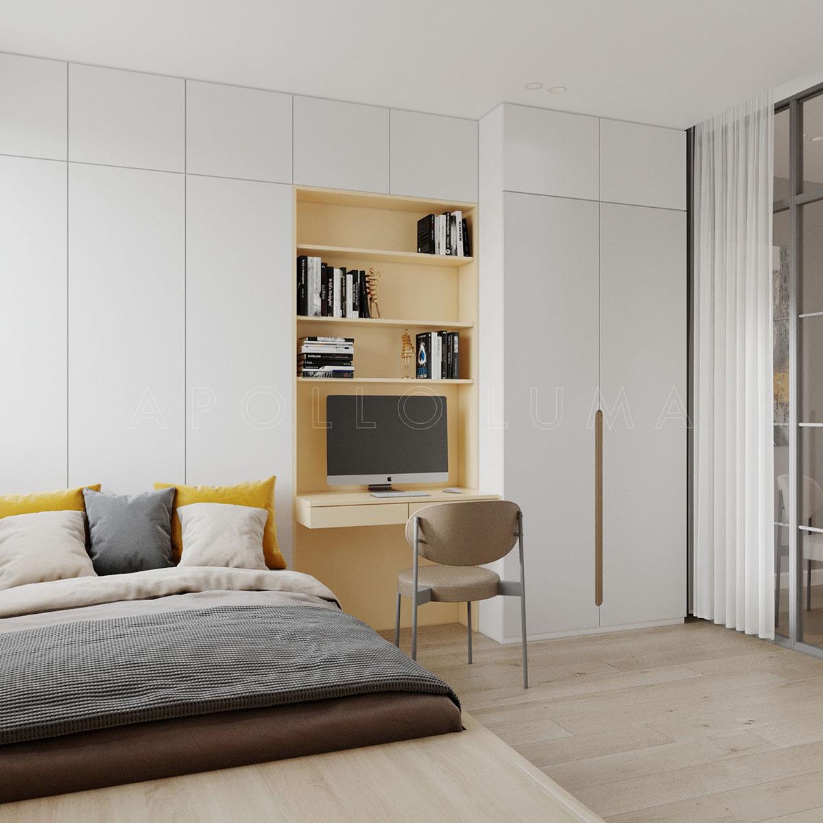Mẫu thiết kế nội thất căn hộ Berriver Jardin Long Biên