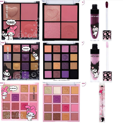 Wet N Wild x My Melody & Kuromi