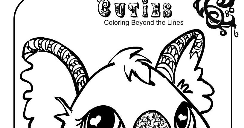 Creative Cuties: koala printable coloring page