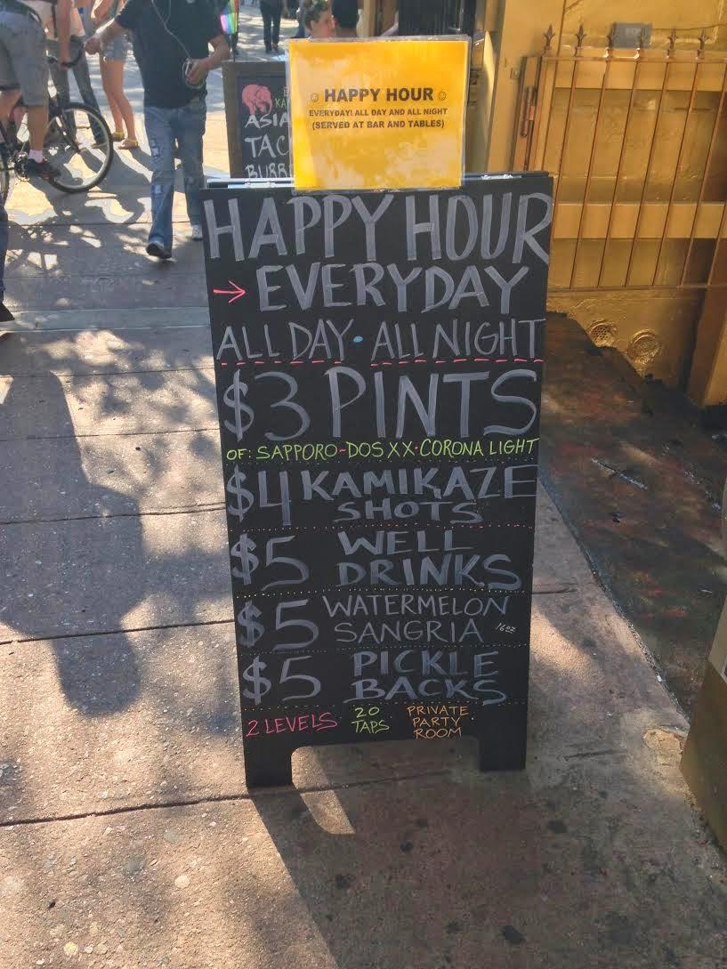 Ev Grieve 3 Colors Later Saints Tavern Is Now Kamikaze Co On