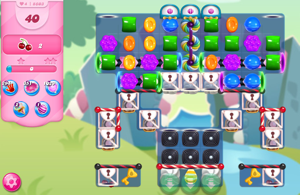 Candy Crush Saga level 8603