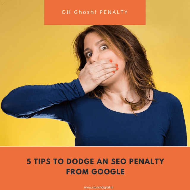 5 tips to avoid SEO Penalty