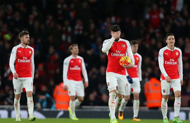 Arsenal Alami Kekalahan Melawan Manchester City