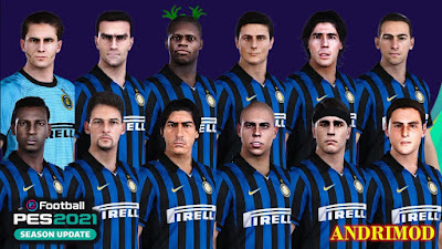 PES 2021 Classic FacePack Inter FC by Andri Mod